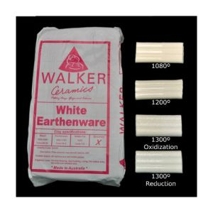 Walker White Earthenware Clay 10kg