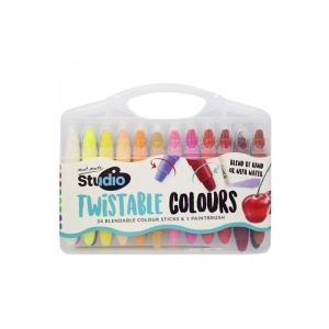 Mont Marte Studio Twistable Colours 24pce