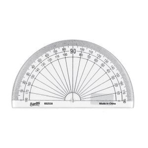 Bantex Protractor 10cm 180 degrees