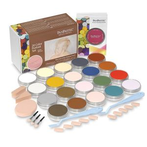 PanPastel Set of 20 with Sofft Tools - Portrait Colours