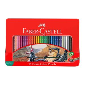 Faber-Castell Classic Pencil tin of 36