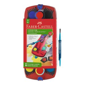 Faber-Castell Connector Paints 12 assorted_