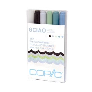 Copic Ciao Set 6 Sea