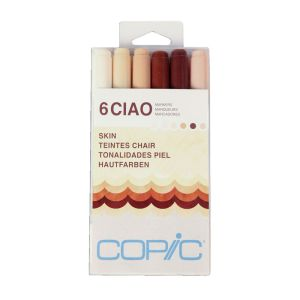 Copic Ciao Set 6 Skin