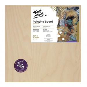 Mont Marte Wooden Painting Board 30.5x30.5cm