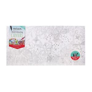 Mont Marte Adult Colouring Canvas 30x60cm