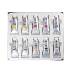 Winsor and Newton Gouache Colour - Introductory Set of 10