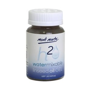 Mont Marte Water Mixable Oil Gel Medium 125ml