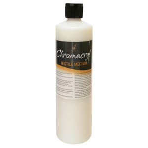 Chromacryl 500ml Textile Medium
