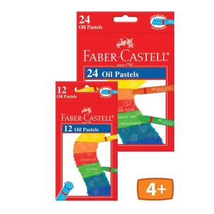 Faber-Castell Oil Pastels Red Range 12 assorted_