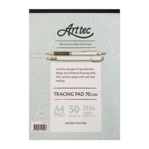 ARTTEC Tracing Pad A4 70gsm