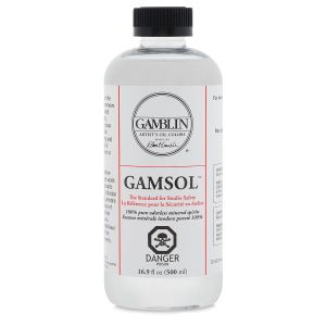 Gamblin Gamsol Odourless Mineral Spirit 500ml