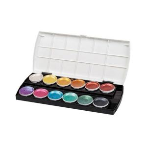 Primecolours Watercolours Pearlescent 12s