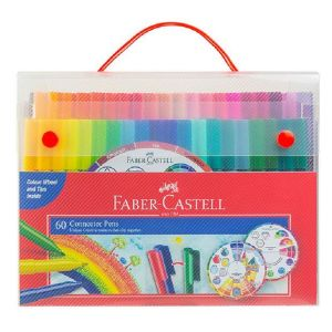 Faber-Castell Connector Pens Case of 60 + Colour Wheel