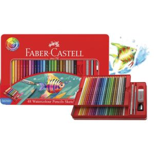 Faber-Castell Watercolour Pencils tin of 48