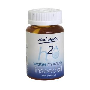 Mont Marte Water Mixable Linseed Oil 125ml