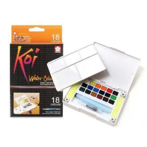 Sakura KOI Watercolour Field Box 18 assorted