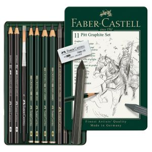 Faber-Castell PITT Mixed Media Graphite Set Asst 11
