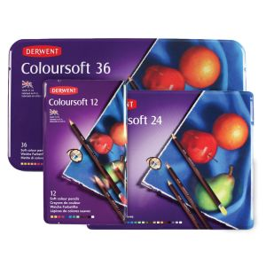 Derwent Coloursoft Sets