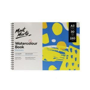 Mont Marte Discovery Watercolour Book 190gsm A3