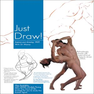 DVD Just Draw Instructional (blue)