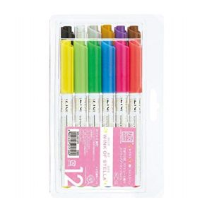 ZIG WINK OF STELLA PEN 12 COLOUR SET