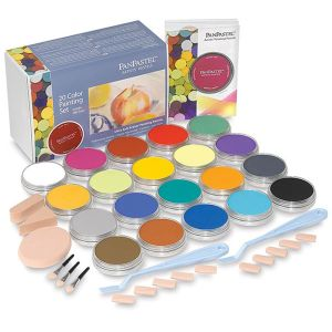 PanPastel Set of 20 with Sofft Tools - Painting Colours