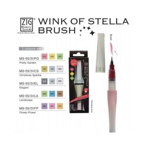 ZIG Wink of Stella Brush 3 Colours - Flower Power
