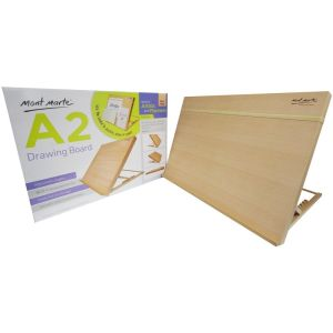 Mont Marte Drawing Board A2 with elastic band