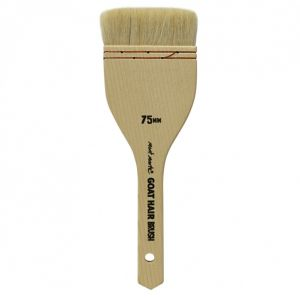 Mont Marte Goat Hair Pine Wood Brush - 75mm