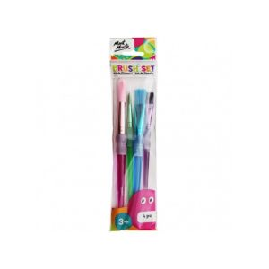 Mont Marte Brush Set 4pce MMKC0221