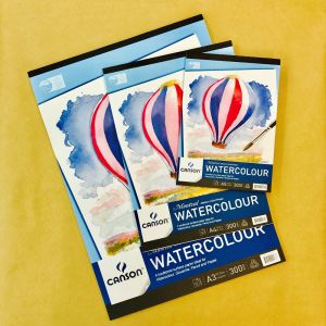 Canson Montval Watercolour Pads 300gsm Medium