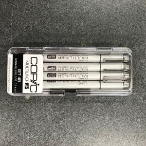 Copic Multiliner SP Set of 4 - Standard (4B)
