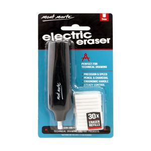 Mont Marte Electric Eraser with 30pce Erasers