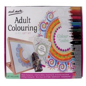 Mont Marte Adult Colouring Set 54pce