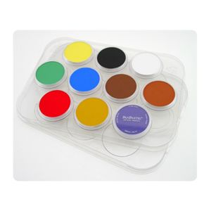 PANPASTEL PALETTE/TRAY w/LID - for 10 COLOURS