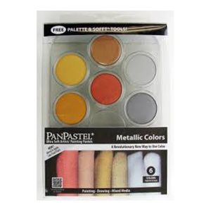 PANPASTEL STARTER SET of 7 - METALLICS