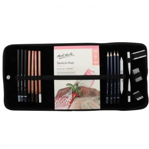 Mont Marte Signature Sketching Set in Soft Case 18pce