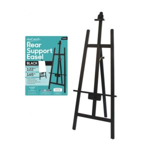 Mont Marte Rear Support Easel Black