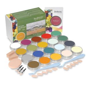 PanPastel Set of 20 with Sofft Tools - Landscape Colours