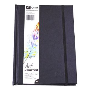 Quill A5 Art Journal Hardcover 125gsm