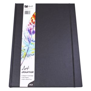 Quill A3 Art Journal Hardcover 125gsm