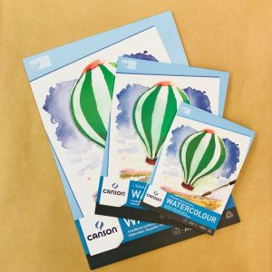 Canson Montval Watercolour Pads 185gsm Medium