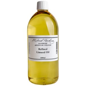 Michael Harding Refined Linseed Oil 1 litre