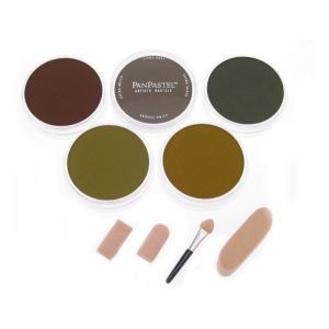 PANPASTEL 5 COLOUR STARTER SET - EARTH COLOURS