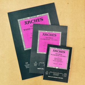 Arches Watercolour Pads 300gsm