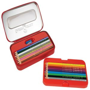 Faber-Castell Classic Colour Pencils Zip Tin Night Sky