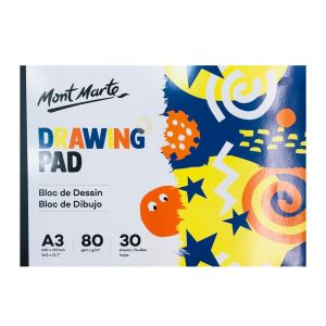 Mont Marte Kids Drawing Pad A3 30 sheets