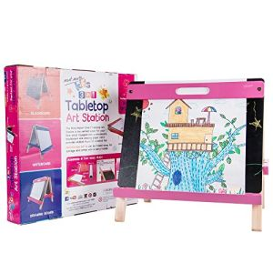 Mont Marte Kids Tabletop Art Station - Pink