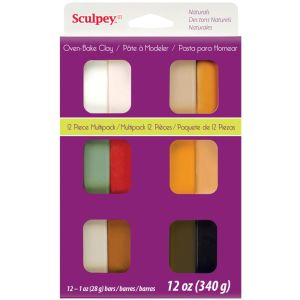 SCULPEY III NATURAL MULTI PACK 12 X 1oz